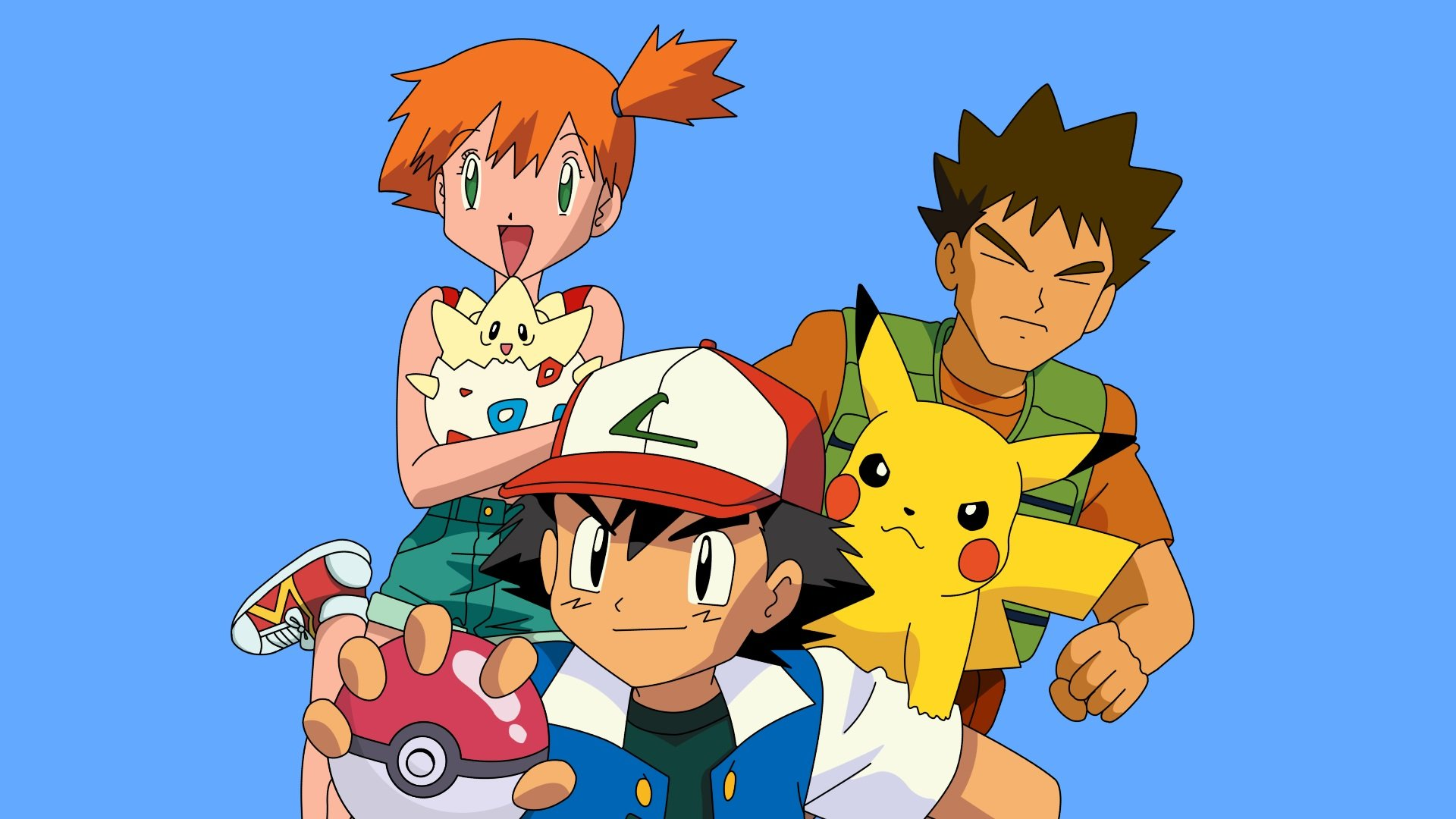 Brock and Misty